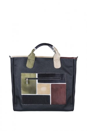 Дорожная сумка Astore. Цвет: черный, зеленый