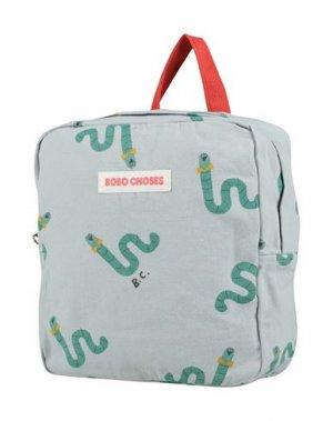 Рюкзак BOBO CHOSES. Цвет: небесно-голубой