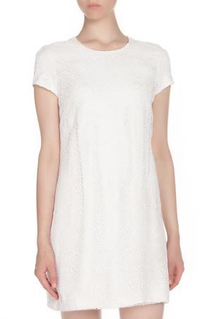 Платье коктейльное Issa London. Цвет: белый