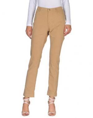 Повседневные брюки MARINA YACHTING. Цвет: хаки