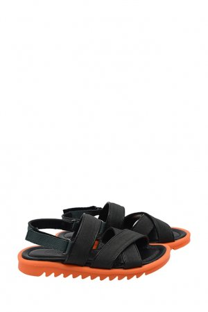 Зеленые сандалии Bonpoint. Цвет: зеленый