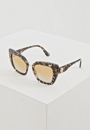Очки солнцезащитные Dolce&Gabbana DG4359 911/6E. Цвет: коричневый