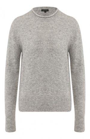 Пуловер из смеси кашемира и шелка Escada. Цвет: серый