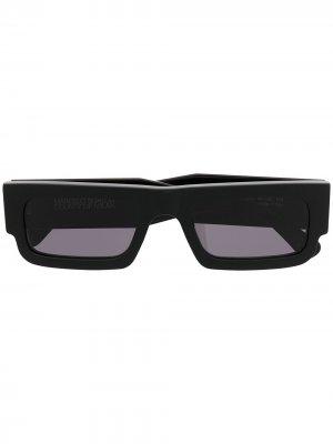 Солнцезащитные очки с принтом Marcelo Burlon County of Milan. Цвет: черный