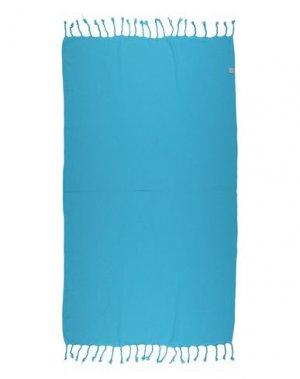 Пляжное полотенце HAMMAMAS. Цвет: бирюзовый