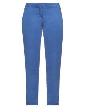 Повседневные брюки JACOB COHЁN. Цвет: синий
