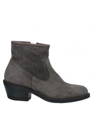 Полусапоги и высокие ботинки FIORENTINI+BAKER. Цвет: свинцово-серый