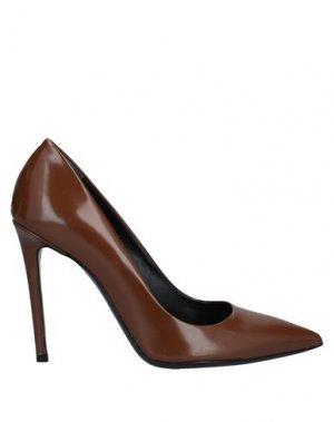Туфли GUIDO SGARIGLIA. Цвет: коричневый