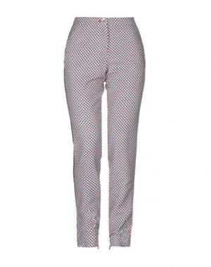 Повседневные брюки JANICE. Цвет: темно-синий