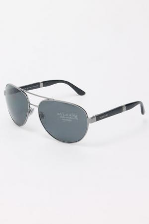 Очки солнцезащитные Bvlgari. Цвет: мультицвет