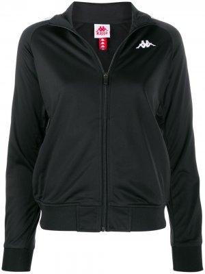 Куртка Omini на молнии с логотипом Kappa. Цвет: черный