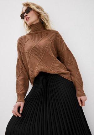 Свитер Concept Club. Цвет: коричневый