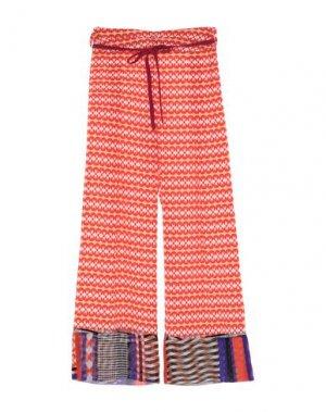 Повседневные брюки PIANURASTUDIO. Цвет: коралловый