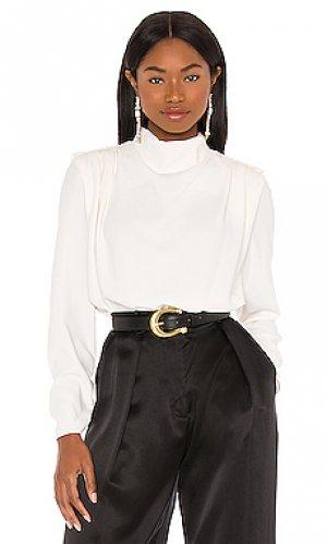 Блузка fabienne Amanda Uprichard. Цвет: ivory