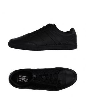 Низкие кеды и кроссовки JIM RICKEY. Цвет: черный