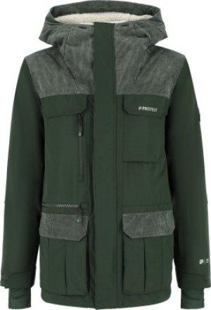 Куртка утепленная мужская , размер 54 Protest. Цвет: зеленый