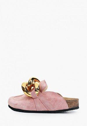 Мюли Grand Style. Цвет: розовый