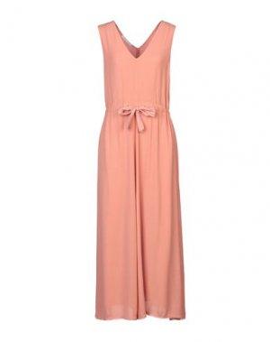 Длинное платье CARACTÈRE. Цвет: абрикосовый