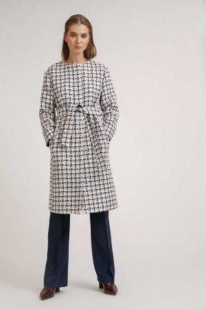 Пальто с поясом EMKA