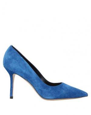 Туфли PREMIATA. Цвет: синий
