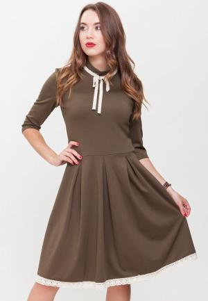 Платье Xarizmas. Цвет: хаки