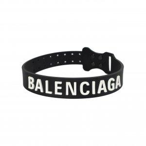 Черный чокер с логотипом Balenciaga