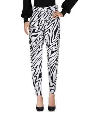 Повседневные брюки ISSA. Цвет: белый