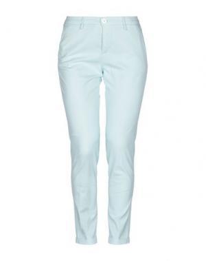 Повседневные брюки TRAMAROSSA. Цвет: светло-зеленый