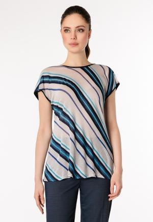 Блуза Pompa. Цвет: бежевый