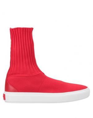 Кеды и кроссовки P.A.R.O.S.H.. Цвет: красный