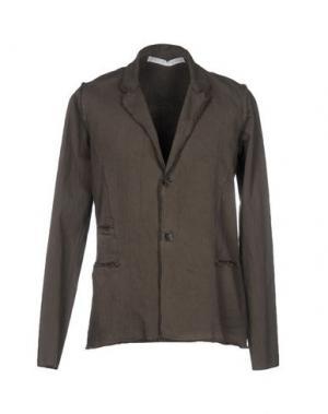 Пиджак PRIMORDIAL IS PRIMITIVE. Цвет: свинцово-серый