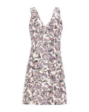 Короткое платье ANNA SUI. Цвет: белый