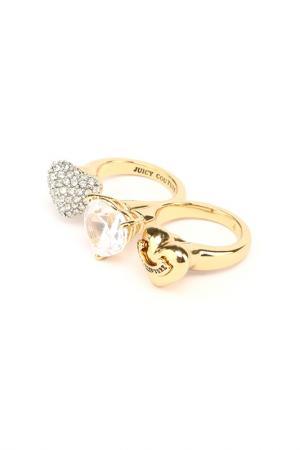 Кольцо Juicy Couture. Цвет: gold
