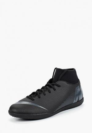 Бутсы зальные Nike Mens SuperflyX 6 Club IC Indoor/Court Football Boot. Цвет: черный