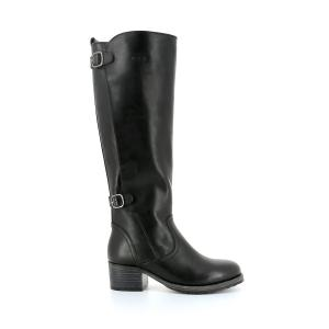 Сапоги-ботфорты кожаные Pano P-L-D-M-BY PALLADIUM. Цвет: черный