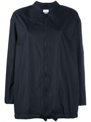Легкая куртка-бомбер Aspesi. Цвет: синий