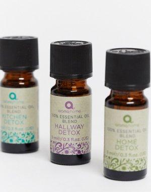 Набор эфирных масел Detox 3x9 мл-Бесцветный Aroma Home