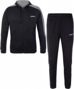 Костюм мужской adidas 3-Stripes, размер 40-42. Цвет: серый