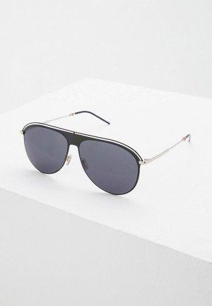 Очки солнцезащитные Christian Dior Homme DIOR0217S CSA. Цвет: черный
