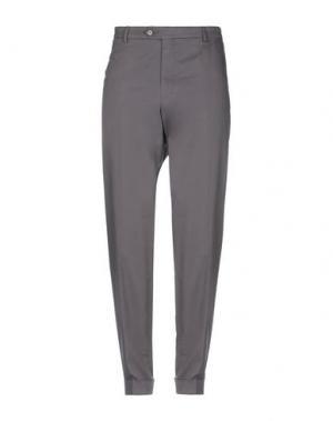Повседневные брюки DIMENSIONE. Цвет: свинцово-серый