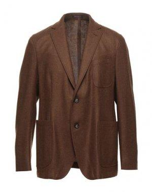 Пиджак THE GIGI. Цвет: коричневый