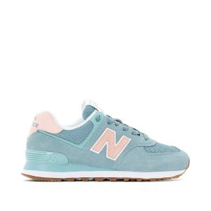 Кроссовки WL574 NEW BALANCE. Цвет: синий/ розовый