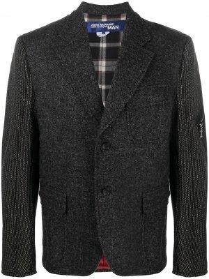 Пиджак с контрастными вставками Junya Watanabe. Цвет: черный
