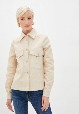 Куртка Climona. Цвет: бежевый