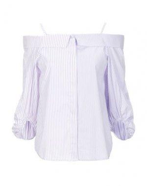 Pубашка SUOLI. Цвет: сиреневый