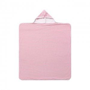 Хлопковое полотенце Kissy. Цвет: розовый