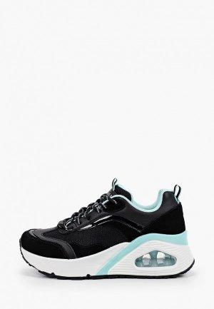Кроссовки Skechers UNO HI BIG STEPS. Цвет: черный