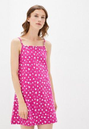 Сорочка ночная HappyFox. Цвет: розовый