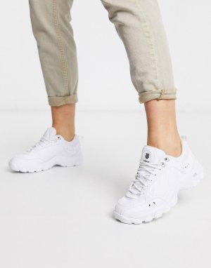 Белые кроссовки HS329-Белый K-Swiss