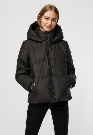 Куртка утепленная Vero Moda. Цвет: черный